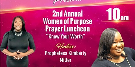 Women of Purpose Prayer Luncheon tickets