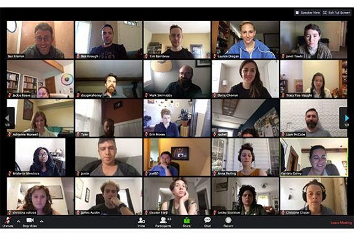 Zoom - getting started with online meetings image