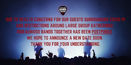 Rideauwood Bands Together tickets