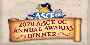 Plaque Orders: ASCE OC Branch - 2020 Awards Dinner