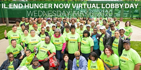 2020 IL End Hunger NOW Virtual Lobby Day  tickets