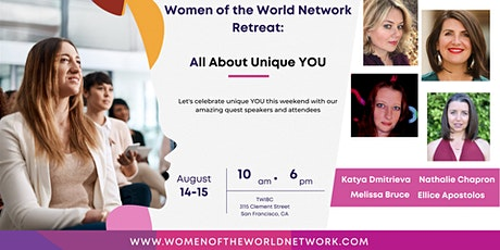 Women of the World Network Retreat: All About Unique YOU tickets