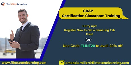 CBAP Bootcamp Training in Anchorage, AK tickets