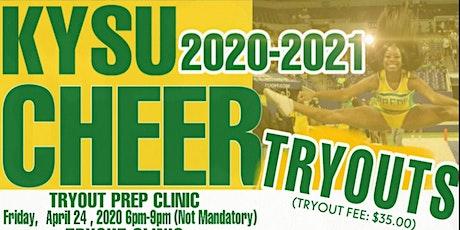 Kentucky State University Cheerleading Tryouts tickets