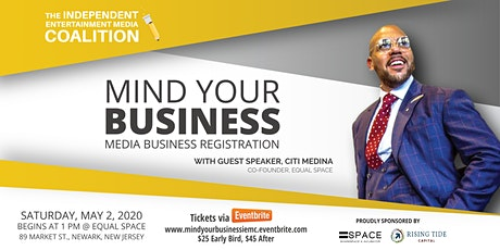 Mind Your Business: Media Business Registration tickets