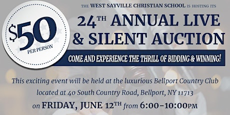 WSCS 24th Annual Live & Silent Auction tickets