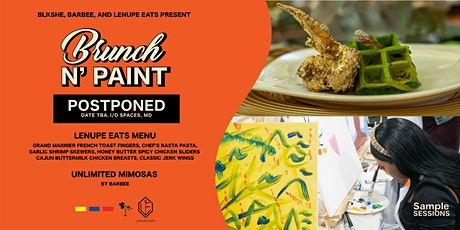 Sample Sessions: Brunch N'  Paint tickets