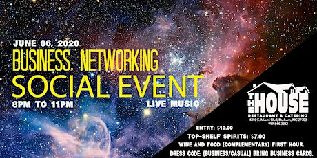 BUSINESS, NETWORKING, SOCIAL EVENT tickets