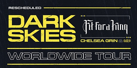 Fit For A King: Dark Skies Tour at Bossanova Ballroom tickets