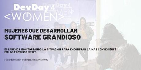 Dev Day 4 Women Monterrey boletos
