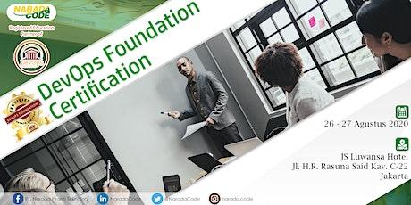 DevOps Foundation Training Jakarta, August 26th 2020 tickets