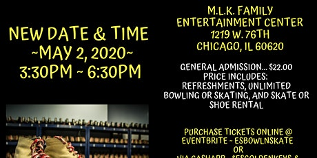 E's Golden Keys Late Night Bowl & Skate tickets