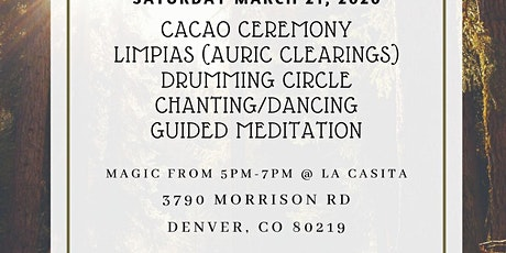 Cacao Drumming Ceremony tickets