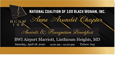 NCBW- Anne Arundel Chapter Awards and Recognition Breakfast 2020 tickets