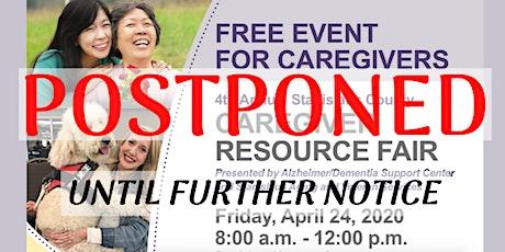 POSTPONED 4th Annual Stan. Co. Caregiver Resource Fair(Vendor Registration) tickets