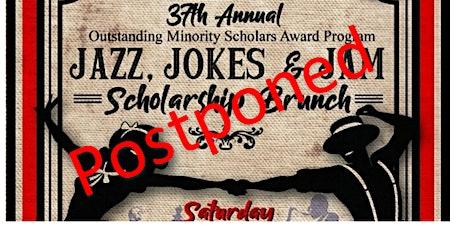 POSTPONED:  Jazz, Jam, & Jokes Scholarship Brunch tickets