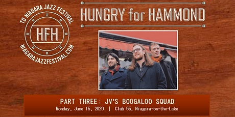 Hungry for Hammond Part Three: JV's Boogaloo Squad tickets