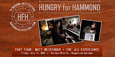 Hungry for Hammond Part Four: Matt Weidinger + The JLS Experience tickets