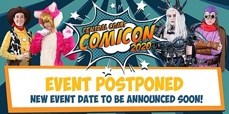 Central Coast Comicon 2020 tickets