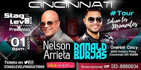 """Nelson Arrieta y Ronald Borjas  Tour """"Sobran Los Momentos"""" tickets"""