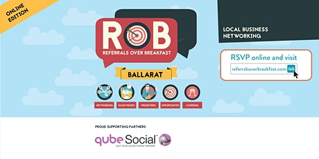 Online Edition: Ballarat - Referrals over Breakfast (RoB) tickets