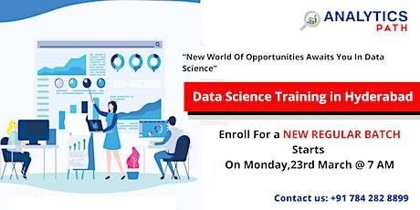 Register For Data Science Training New Regular Batch 23rd Mar at 7:00 AM tickets