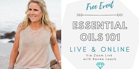Essential Oils 101 - ONLINE! tickets