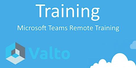 Microsoft Teams Remote Training tickets