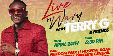 Live And Wavy with Terry G and Friends tickets