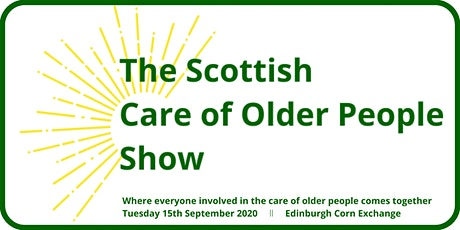 The Scottish Care of Older People Show tickets