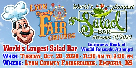 World's Longest Salad Bar – Guinness Book of World Records Attempt tickets