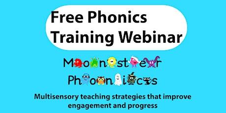 Free Phonics Training Webinar tickets