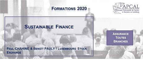 Sustainable Finance tickets
