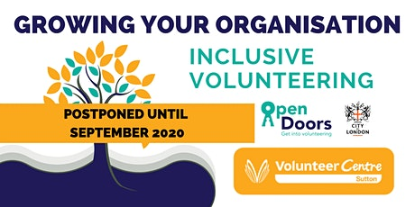 Growing Your Organisation: Inclusive Volunteering tickets