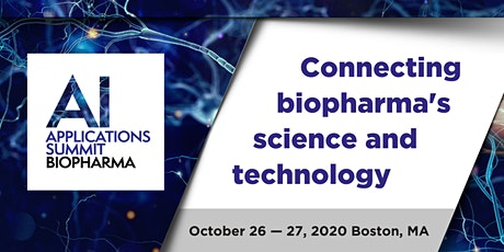 AI Applications in Biopharma Summit 2020 tickets