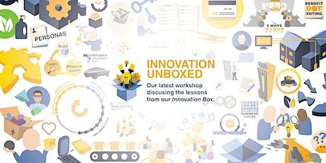 Innovation Un-Boxed - zostań liderem innowacyjności! tickets