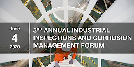 3rd Annual Industrial Inspections and Corrosion Management tickets
