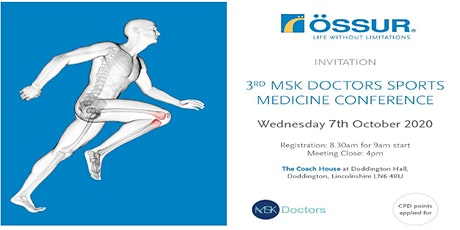 3RD MSK DOCTORS SPORTS MEDICINE CONFERENCE tickets