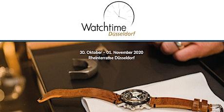 Watchtime Düsseldorf 2020 - Deutschlands große Uhrenausstellung Tickets