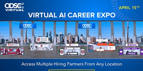 Virtual AI Career Expo @ODSC East 2020 tickets