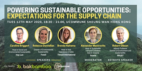 Powering Sustainable Opportunities: Expectations for the Supply Chain tickets