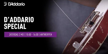 D'Addario Special tickets