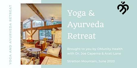 Stratton Mountain Yoga and Ayurveda Retreat tickets