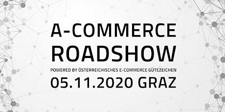 Roadshow Graz powered by Österreichisches E-Commerce Gütezeichen tickets