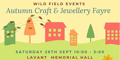 Autumn Craft & Jewellery Fayre tickets
