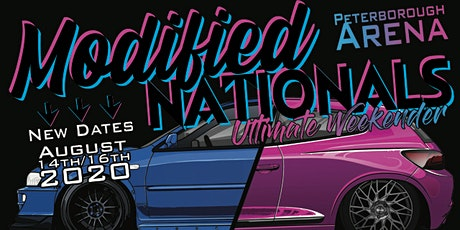 Modified Nationals Performance & Tuning Show.  15/16 Aug 2020 tickets