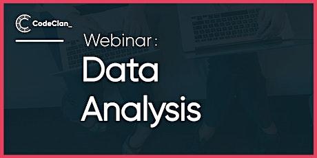 Webinar - Learn Data Analysis tickets