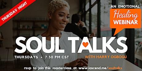 SOUL TALKS - An Emotional Healing Webinar (Dallas) tickets