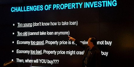 FREE Property Investments Secrets Revealed by Top Property Investor  tickets