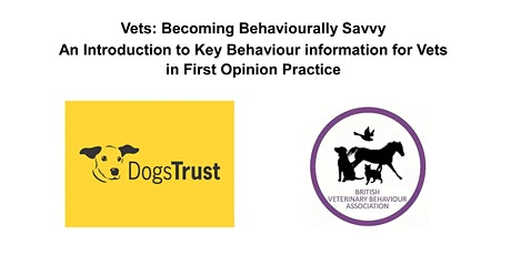 Vets: Becoming Behaviourally Savvy tickets